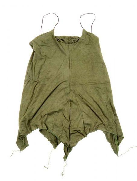 top blusa amplia expandex poliester liso espalda abierta tirante fino Comprar - Venta Mayorista y detalle