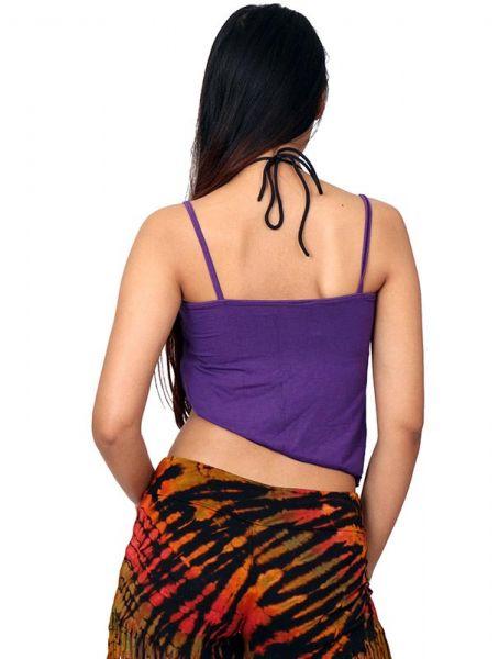 Top hippie tie dye mini - Detalle Comprar al mayor o detalle