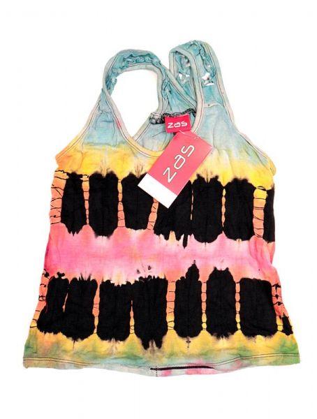 Camisetas y Tops Hippies - top tie dye de tirantes ccomposición TOJO13 - Modelo 1811