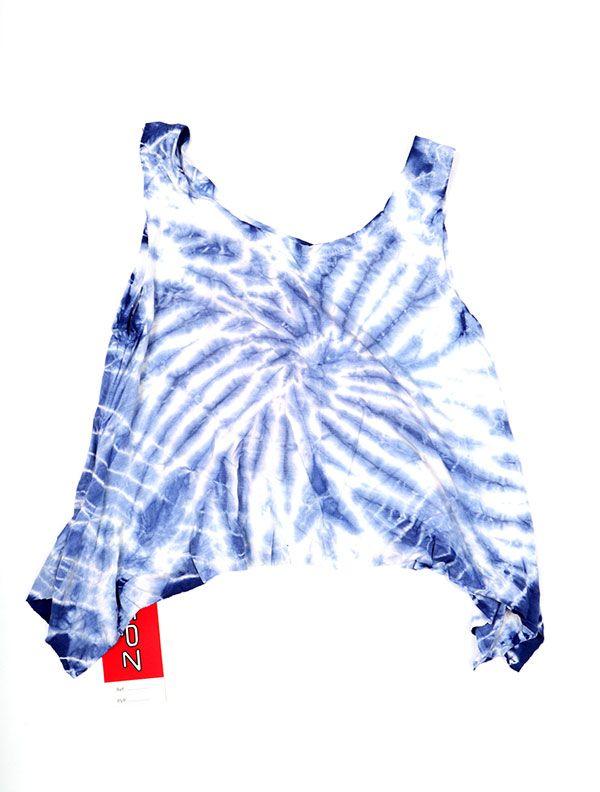 Camisetas y Tops Hippies - Top Tamaño Mini Teñido TOJU01 - Modelo M01