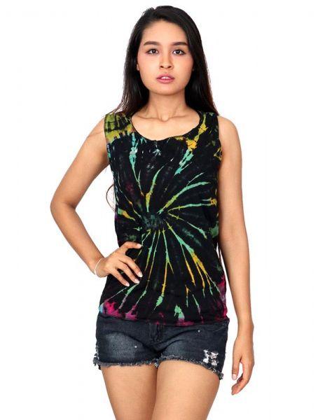 Top multi rasgado espalda Tie Dye - Detalle Comprar al mayor o detalle