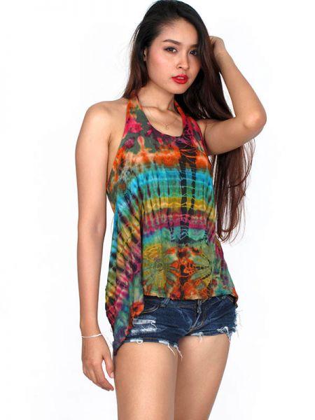 Camisetas y Tops Hippies - Top tirante tie dye TOJU11 para comprar al por Mayor o Detalle en la categoría de Ropa Hippie Alternativa para Mujer