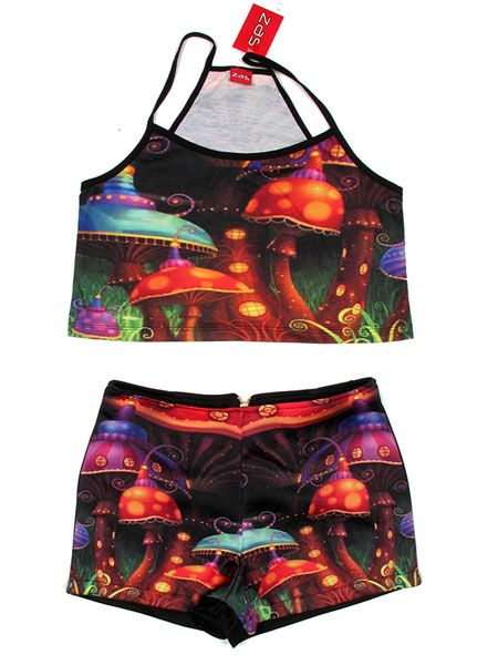 Conjunto de top pantalón laser naif TOPAPO-P para comprar al por mayor o detalle  en la categoría de Outlet Hippie Étnico Alternativo.