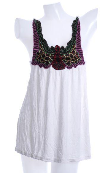 Top- blusa bordada en pecho, caida amplia, talla única Comprar - Venta Mayorista y detalle