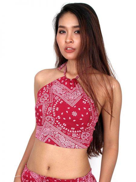 mini top hippie, top de tirantes 100% algodón de tela fina Comprar - Venta Mayorista y detalle