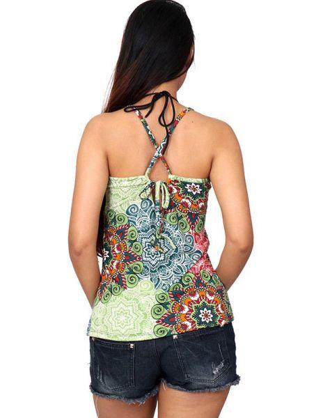 Top hippie estampado mandalas grandes - Detalle Comprar al mayor o detalle
