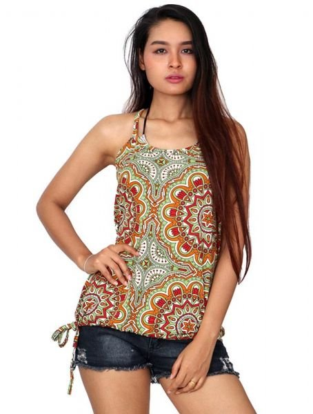 Top hippie estampado mandalas grandes - Comprar al Mayor o Detalle