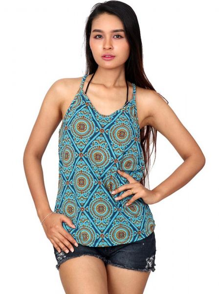 Top hippie estampado mandalas - Comprar al Mayor o Detalle