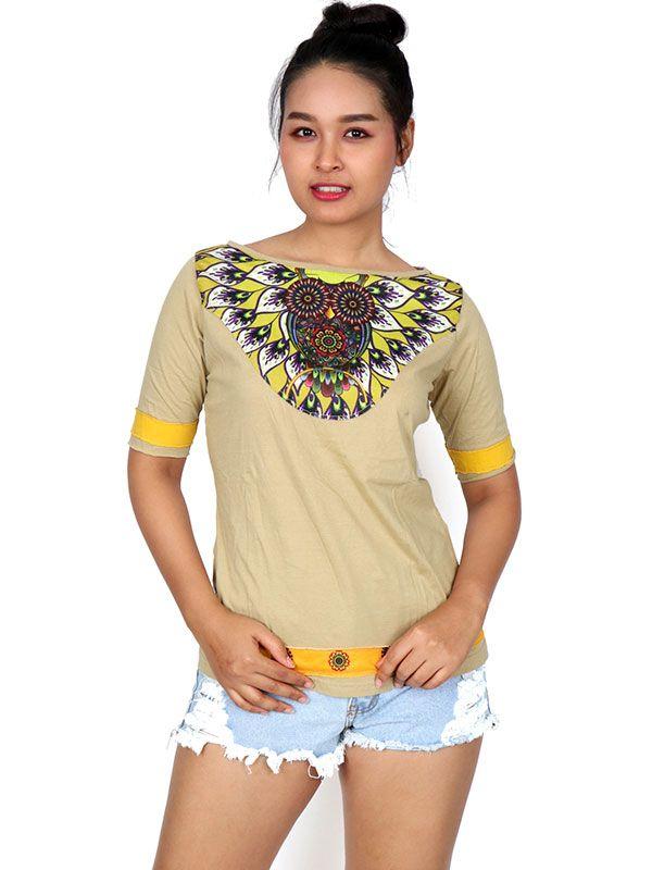 Blusa Buho Étnico TOUN52 para comprar al por mayor o detalle  en la categoría de Ropa Hippie Alternativa para Chicas.