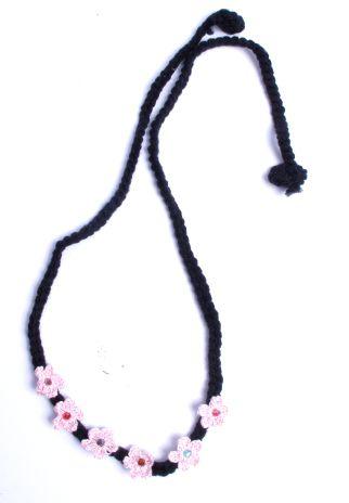 Flores para la frente de croché, estilo hippie [VACH01_2] para comprar al por Mayor o Detalle en la categoría de Cintas pelo / Máscaras