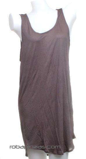 Vestido de algodón suelto con nudos en espalda. Talla única Comprar - Venta Mayorista y detalle