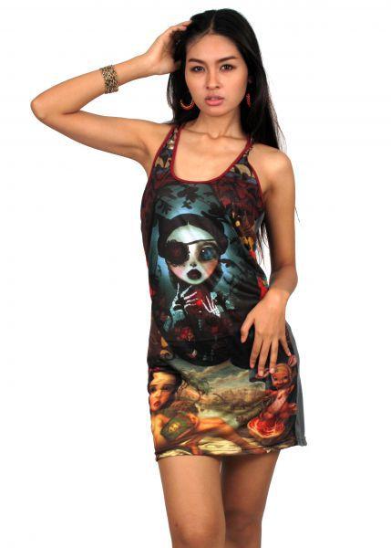 Vestido alternativo print digita para Comprar al mayor o detalle