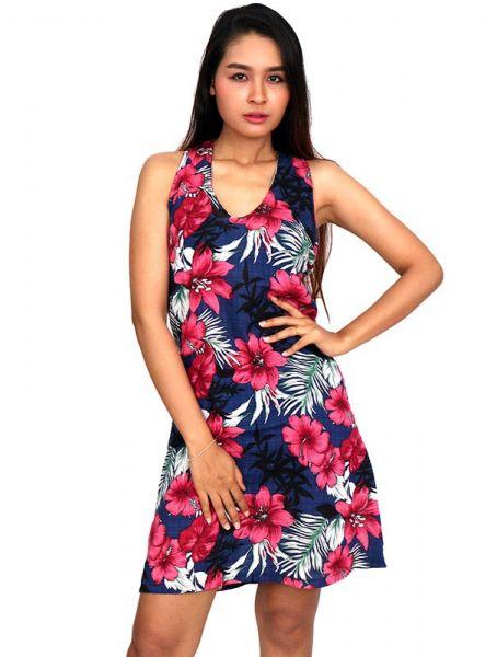 Vestido estampados flores [VECT05] para Comprar al mayor o detalle