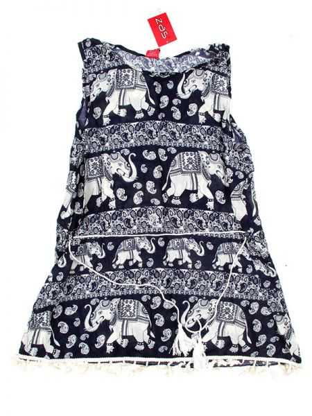 Vestido Rayón Étnico VEET01 para comprar al por mayor o detalle  en la categoría de Outlet Hippie Étnico Alternativo.
