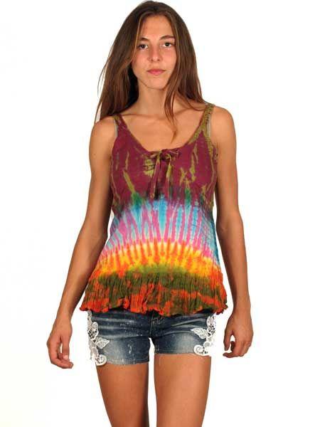 Vestido hippie patch [VEEV04] para Comprar al mayor o detalle