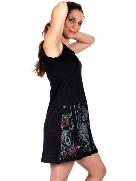 Vestido Bordado flores - Detalle Comprar al mayor o detalle