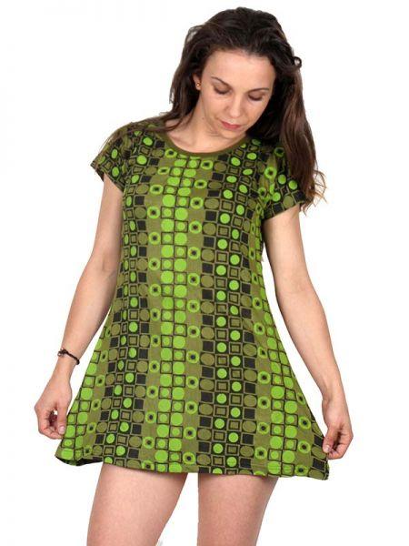 Outlet Ropa Hippie - Vestido rayón estampado [VEEV10] para comprar al por mayor o detalle  en la categoría de Outlet Hippie Étnico Alternativo.