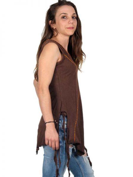 Top hippie de algodón lavado a la piedra con cordón Comprar - Venta Mayorista y detalle