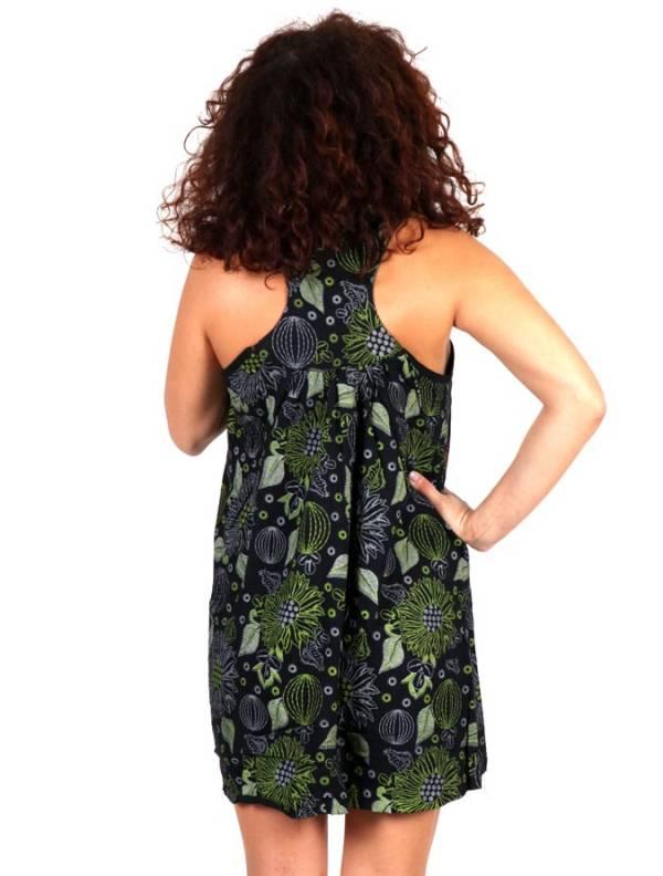 Vestido corto estampado - Detalle Comprar al mayor o detalle