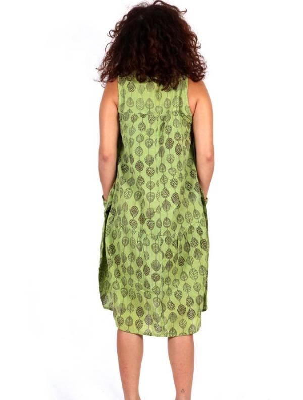 Vestido largo estampado - Detalle Comprar al mayor o detalle