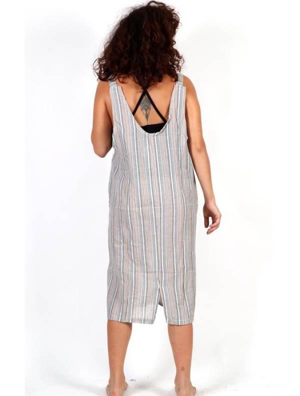 Vestido Hippie de rayas - Detalle Comprar al mayor o detalle