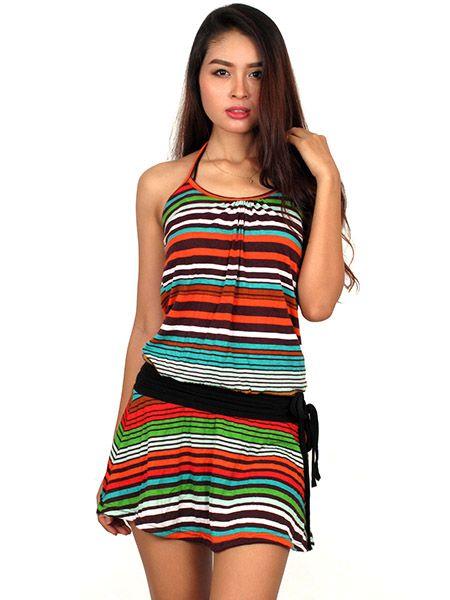 Vestido Rayas multicolor Comprar - Venta Mayorista y detalle