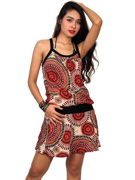 Vestido estampado mandala Comprar - Venta Mayorista y detalle