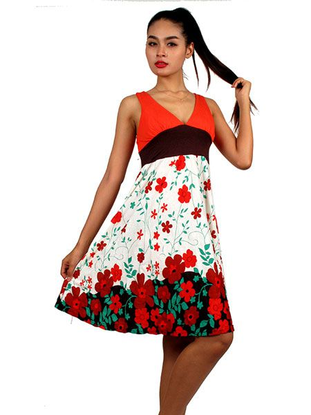 Resultado de imagen de vestidos estampados de flores