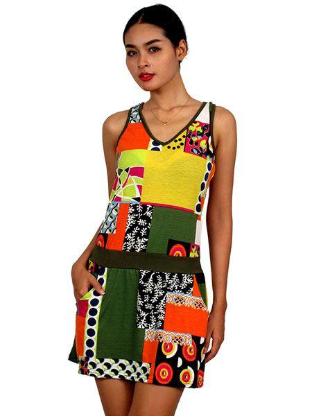 Vestido de tiranres de colores Comprar - Venta Mayorista y detalle