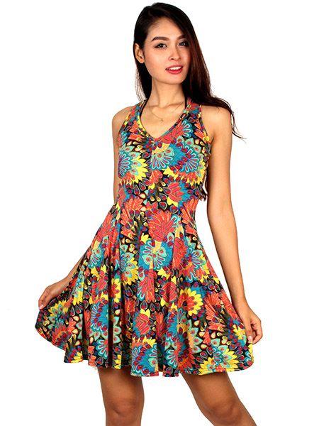 Vestido hippie de flores Comprar - Venta Mayorista y detalle