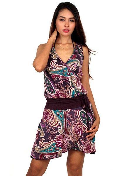 Vestidos cortos de hippies
