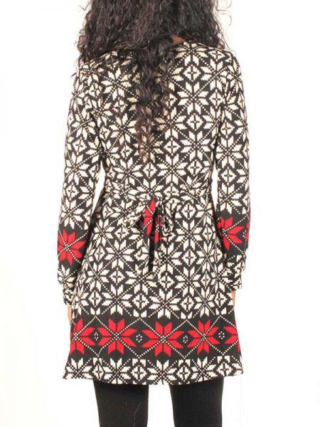 Vestido estampado invierno - Detalle Comprar al mayor o detalle