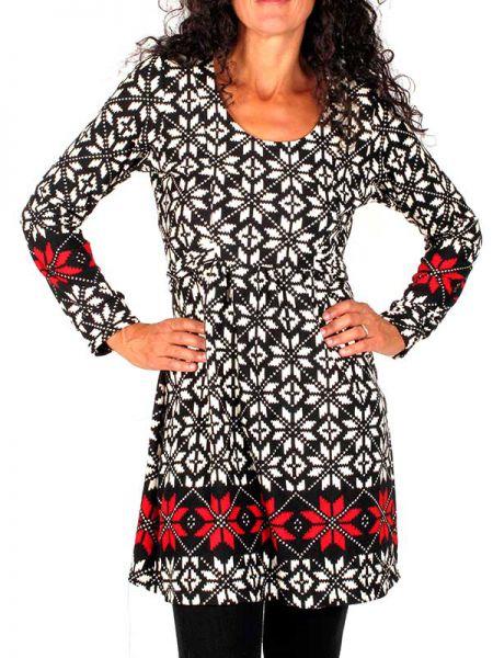Vestidos Otoño-Invierno - Vestido estampado invierno VEFIW19 para comprar al por Mayor o Detalle en la categoría de