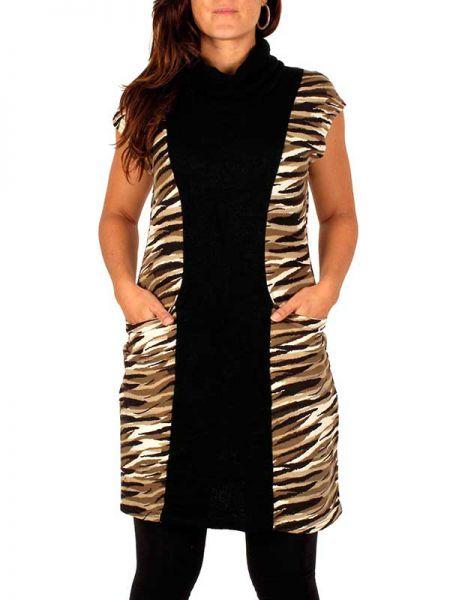Vestido tigre manga hombro Comprar - Venta Mayorista y detalle