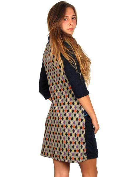 Vestido Étnico invierno Pelo - Detalle Comprar al mayor o detalle