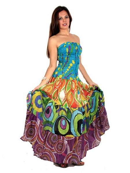 Vestidos formales hippies