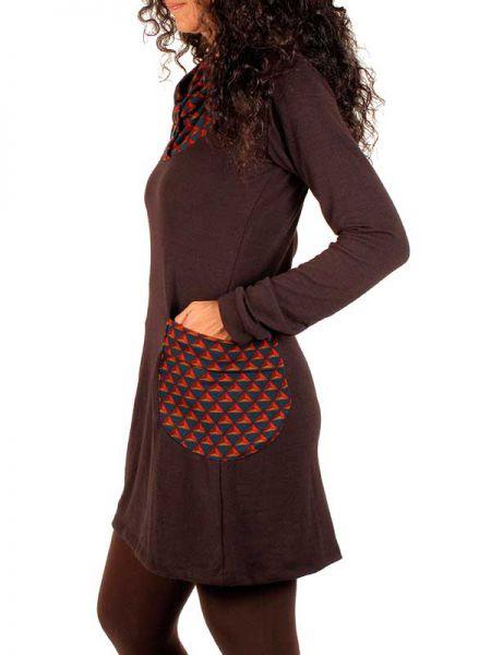Vestido Boho detalles étnicos - Detalle Comprar al mayor o detalle