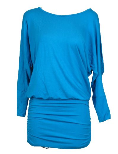 vestido expandex manga larga con espalda abierta y fruncido en Comprar - Venta Mayorista y detalle