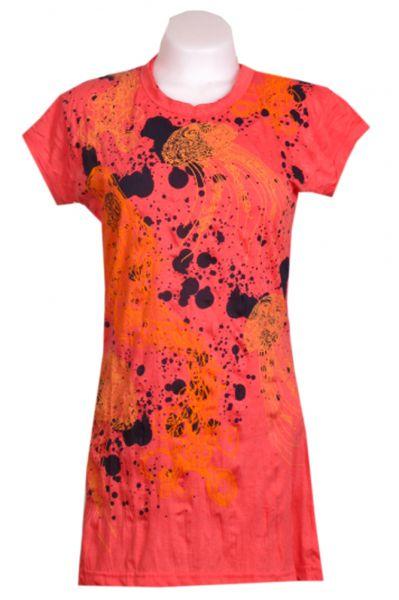 Vestido algodón arrugado de manga corta modelo jelly fish [VEPS02] para Comprar al mayor o detalle