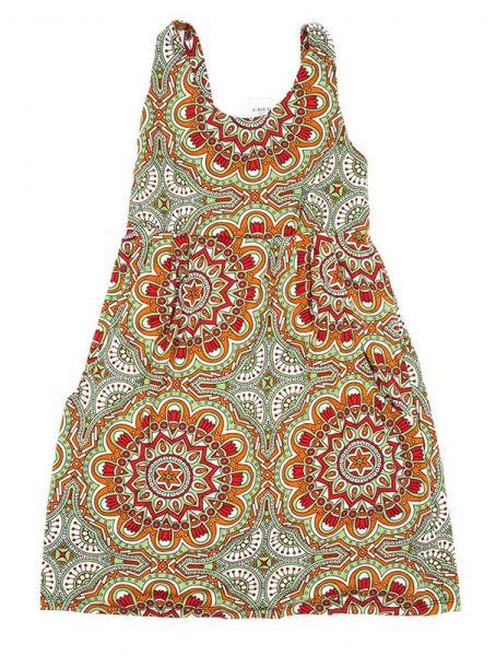 Vestido hippie estampado mandalas Comprar - Venta Mayorista y detalle