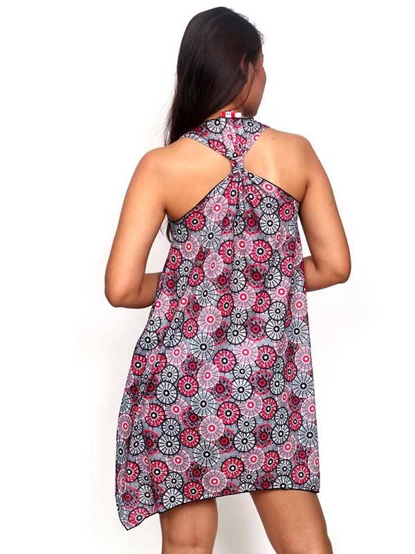 Vestido Hippie con estampado de mandalas - Detalle Comprar al mayor o detalle