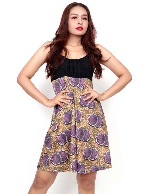 Vestido Hippie con estampado de mandalas [VESN45] para comprar al por Mayor o Detalle en la categoría de Vestidos Hippie y Alternativos