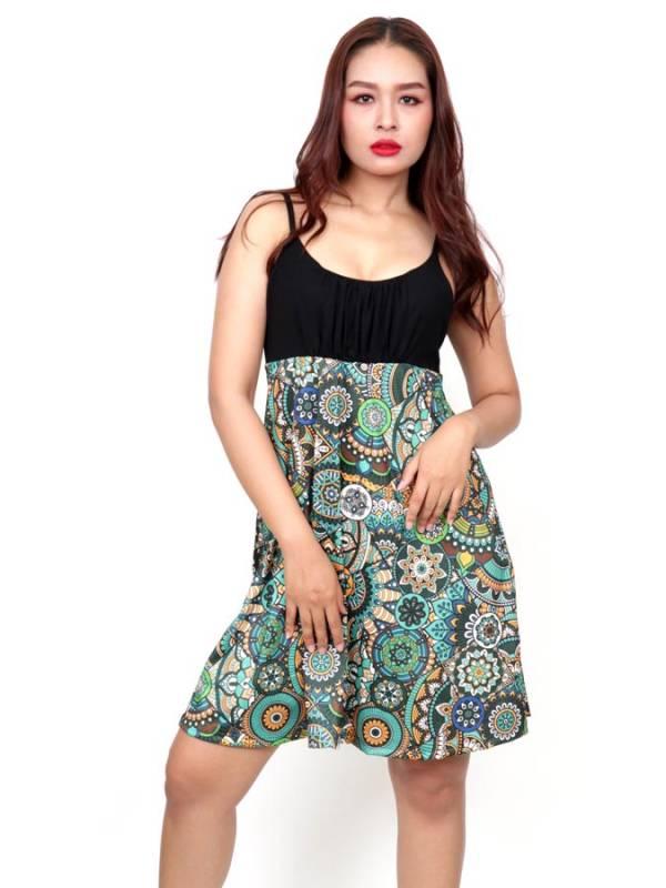Vestido Hippie con estampado de Etnico [VESN46] para comprar al por Mayor o Detalle en la categoría de Vestidos Hippie y Alternativos