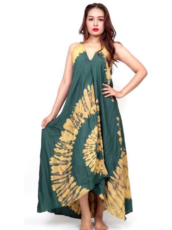 Vestido Largo Tie dye espiral [VETO01] para comprar al por Mayor o Detalle en la categoría de Monos Petos y Vestidos largos