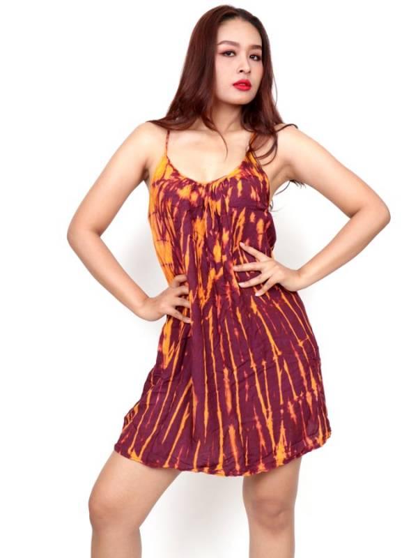 Vestido Hippie corto Tie Dye [VETO02] para comprar al por Mayor o Detalle en la categoría de Vestidos Hippie Boho Alternativos