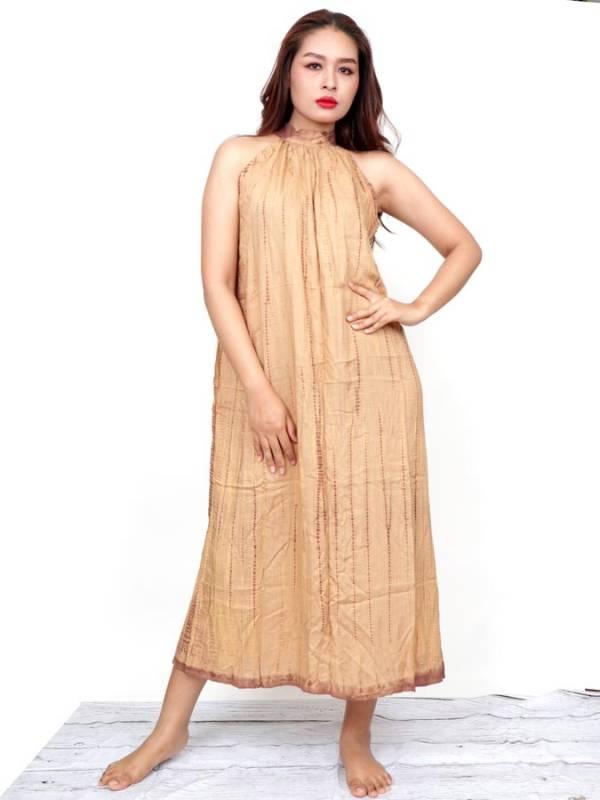 Vestido Largo Tie dye [VETO03] para comprar al por Mayor o Detalle en la categoría de Monos Petos y Vestidos largos
