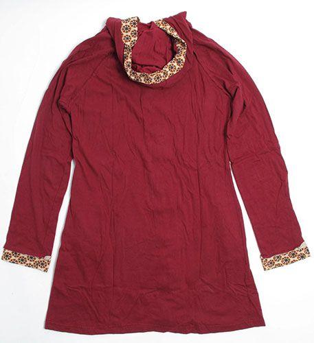 chaqueta larga detalles estampados, botones forrados. 100% algodón Comprar - Venta Mayorista y detalle