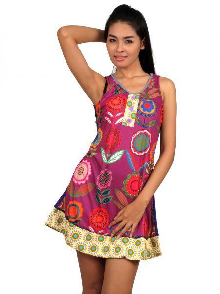 Vestido tirantes flores hippies Comprar - Venta Mayorista y detalle