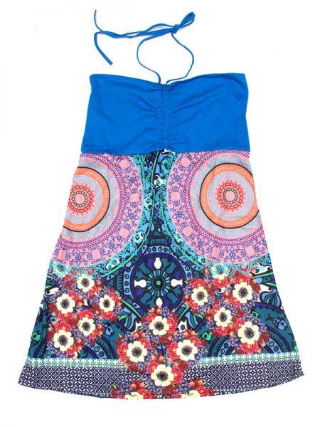 Vestido estampado étnico VEUN66 para comprar al por mayor o detalle  en la categoría de Outlet Hippie Étnico Alternativo.