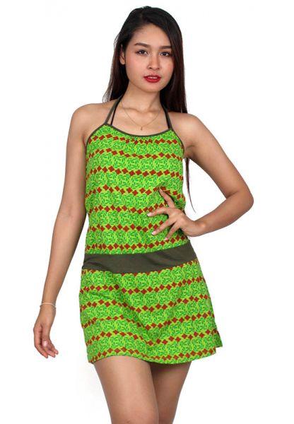 Vestido étnico estampado [VEUN71] para Comprar al mayor o detalle